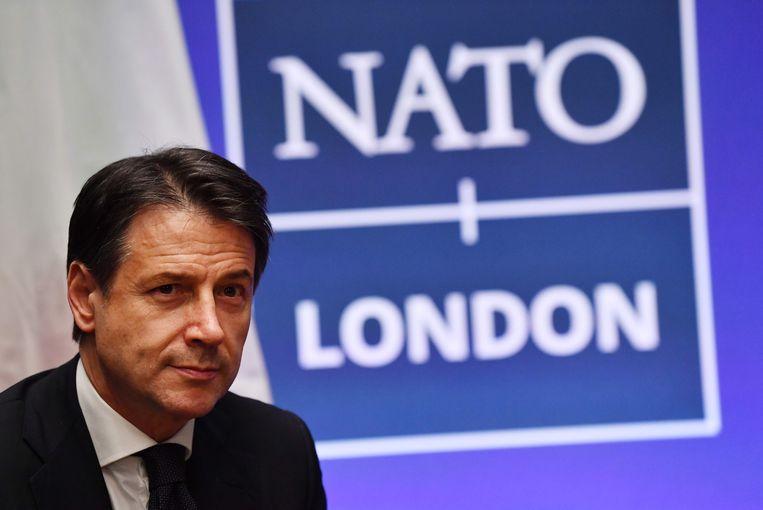 Italiaans premier Giuseppe Conte. Beeld AFP