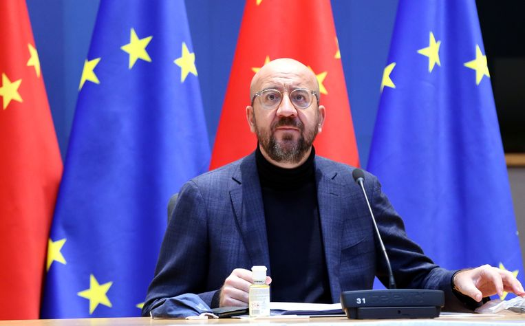Charles Michel, voorzitter van de Europese Raad. Beeld Photo News