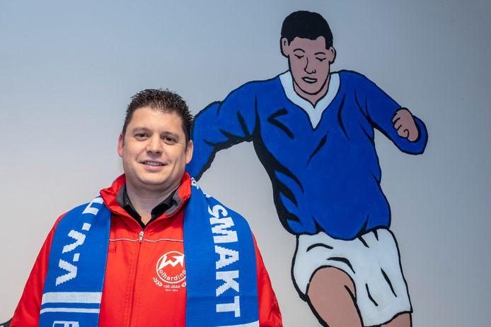 Patrick Wijnen is dit seizoen na vier jaar bij Volharding teruggekeerd bij Holthees-Smakt.