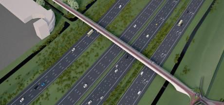 Fietsviaduct over A4 in 2020 klaar