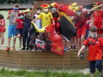 Niets houdt de Rode Duivels van de Vrije Basisschool Ruien tegen. En al zeker geen Finnen!