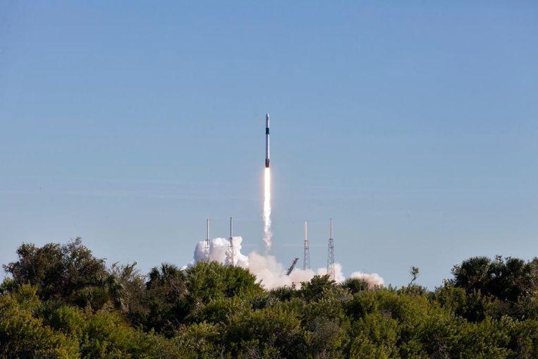 Eindelijk is ruimtevaartbedrijf SpaceX erin geslaagd een militaire satelliet in de ruimte te brengen. (archieffoto)