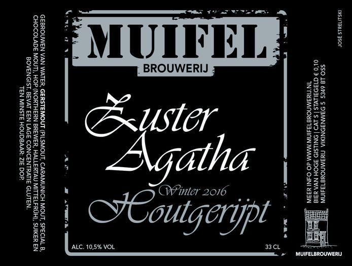 Zuster Agatha, Brabants Lekkerste Bier 2015