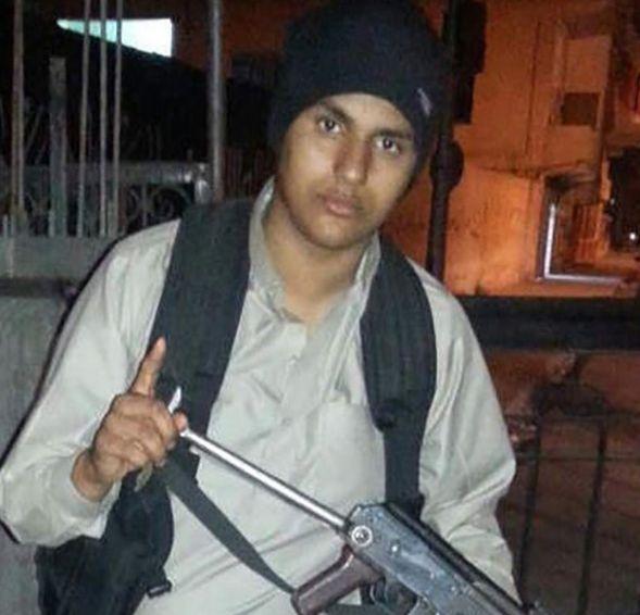 Abdellah Nouamane, de Antwerpse Syriëstrijder die zich Abu Jihad Al-Baljiki laat noemen en vorige maand ons land de oorlog verklaarde.