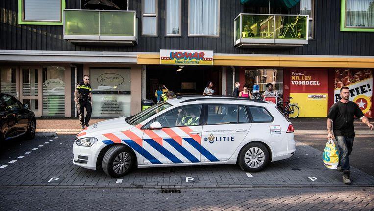 In de Zaandamse wijk Poelenburg zorgen jongeren voor overlast. Beeld anp