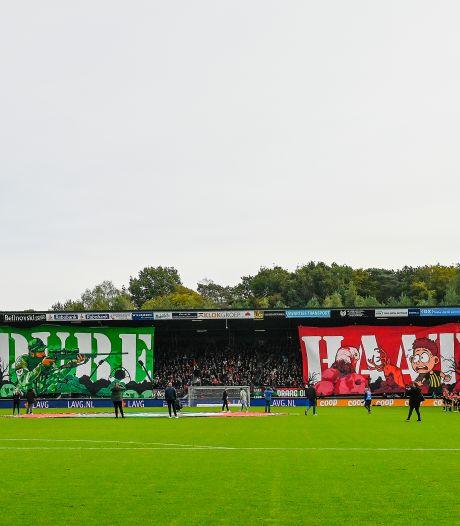 KNVB start vooronderzoek naar veelbesproken spandoeken van NEC-fans voor derby tegen Vitesse