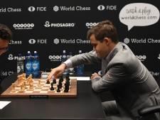Carlsen en Caruana delen weer het punt