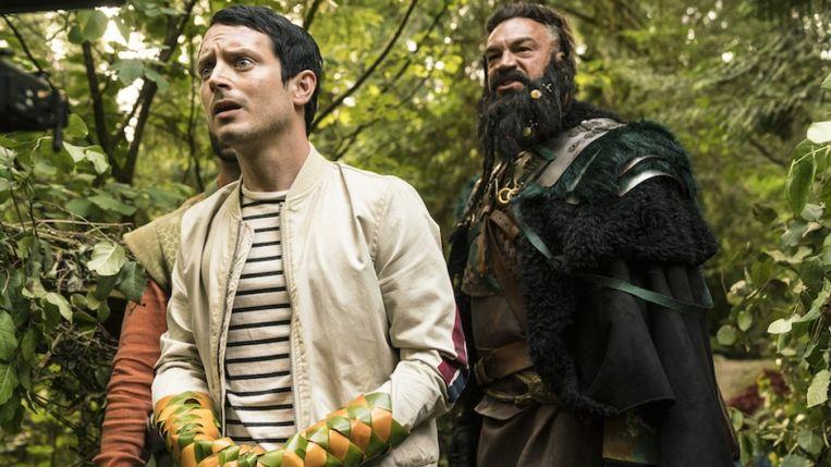 Todd Brotzmann (links), gespeeld door de Amerikaanse acteur Elijah Wood Beeld RV