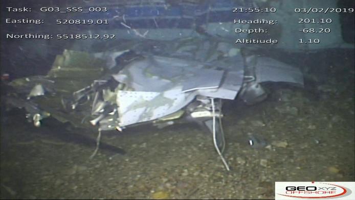 Nieuwe beelden van het vliegtuig, vrijgegeven door de AAIB