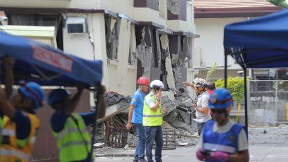 Minstens vijf doden bij tweede zware aardbeving op week tijd in zuiden van Filipijnen