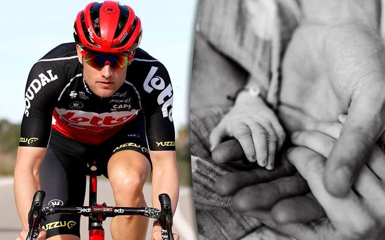Lotto-renner Nikolas Maes verliest zijn zoontje net voor de geboorte.