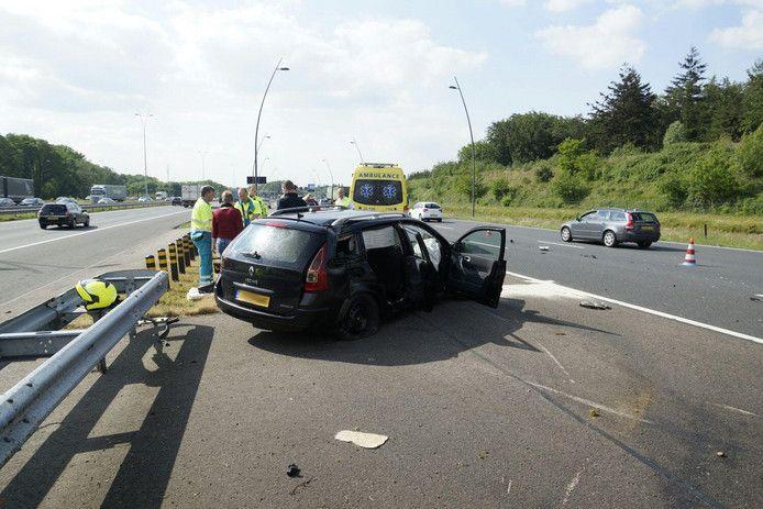 Een eerder ongeval op de Poot van Metz.