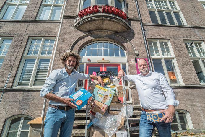 Herbert ten Have (links) en Sjoerd Bos van Fizyr.