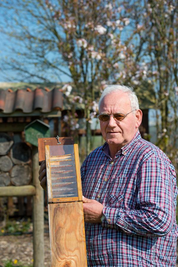 Voor zijn werk heeft Henk Boot een Groen Lintje ontvangen.
