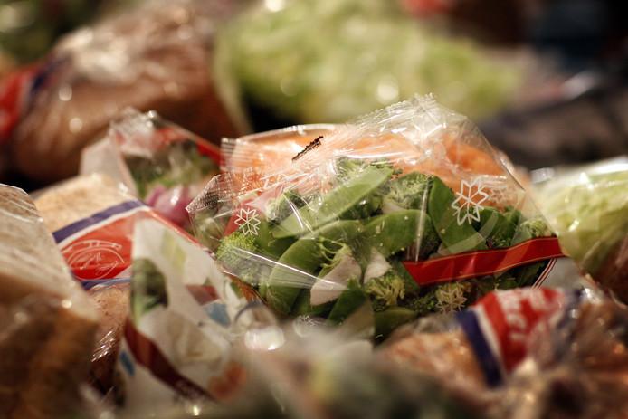 Een voedselpakket.