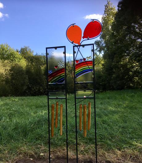 Kunstwerk van Karin van den Heuvel en Josette Meeuwis voor de demente bewoners van de Catharinenberg in Oisterwijk