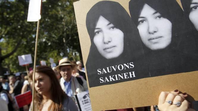 Betoging aan Europarlement tegen steniging Iraanse vrouw