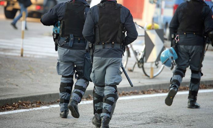 Illustratiebeeld Italiaanse politie