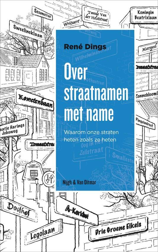 De cover van het nieuwste boek van René Dings.