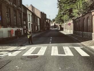 De Wout-gekte barst steeds heviger los: zelfs de zebrapaden moeten eraan geloven op WK-parcours in Leuven