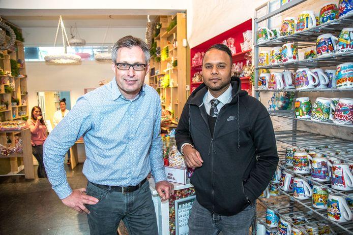 Milan Khubsing, eigenaar van zorgbedrijf Meesterwerk samen met Mark Bakker ook van Meesterwerk.