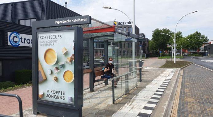 De halte in Papendrecht is de eerste in de regio Drechtsteden, Molenlanden en Gorinchem die is opgeleverd. Er volgen er nog 39. De halte heet sinds de make-over Papendrecht Ketelhaven, in plaats van Rosmolenweg.