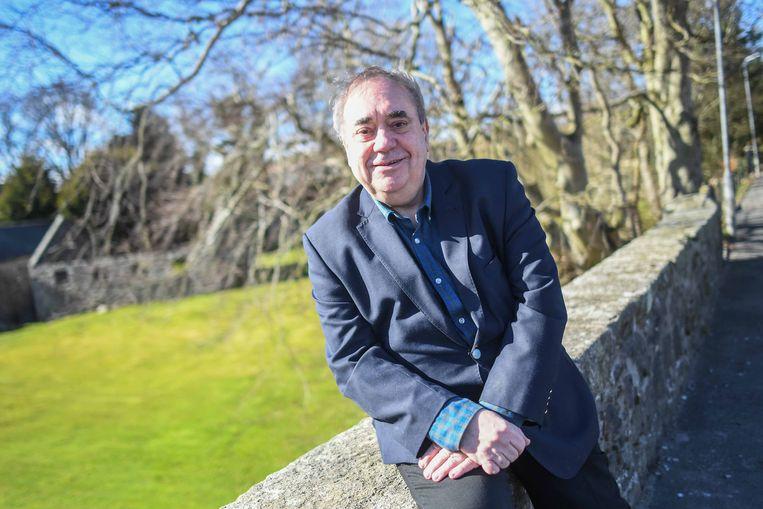 Voormalig SNP-leider Alex Salmond mikt al jaren op een terugkeer in de politiek. Als leider van de Alba Party is het zover. Beeld Getty Images