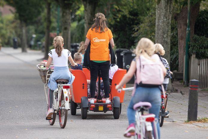 Een medewerker van een kinderopvang met een Stint in Baarn