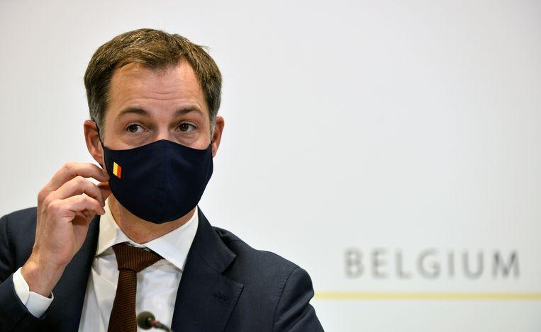 Premier Alexander De Croo (Open Vld). Beeld AP