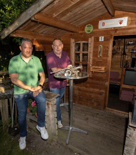 Eindelijk weer muziek maken in Waalre, wel jammer van die 'lamme bakkes'