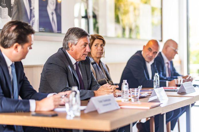 Voka stelde dinsdagochtend de bevinden van haar Toekomstindicator voor in het bijzijn van onder meer Vlaams minister-president Jan Jambon.