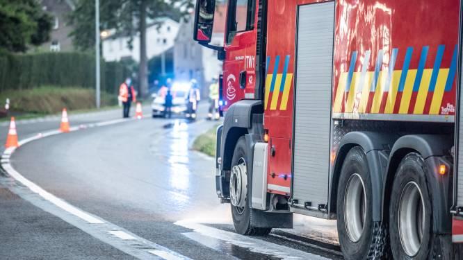 Edelareberg in Oudenaarde afgesloten na zwaar motorongeval