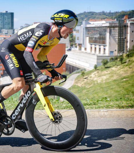 Roglic wint openingstijdrit in Ronde van Baskenland, Schelling snelste Nederlander