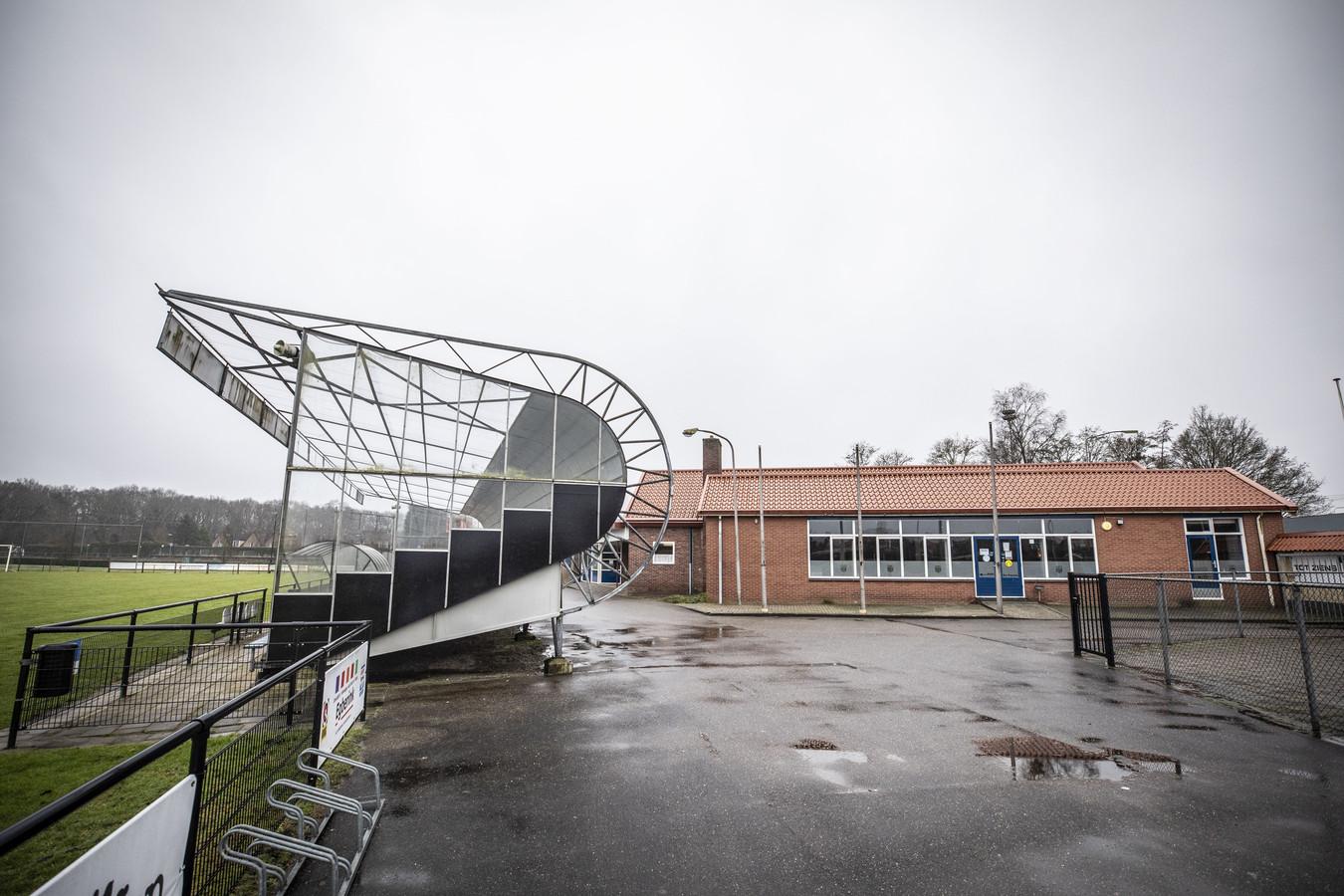 Het sportcomplex van DRC 2012 in Almelo.