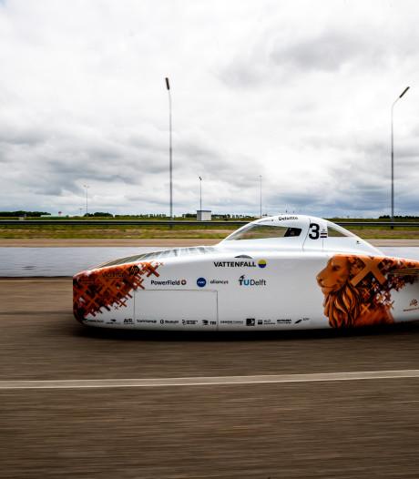 Team vol Noorderlingen begint aan zwaarste race voor zonneauto's: 'Het wordt hoe dan ook fantastisch'