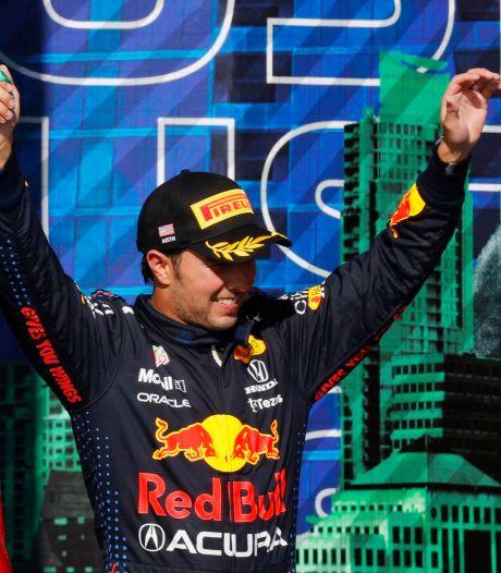 Pérez zat hele race in Texas zonder drinken: 'Ik voelde mijn krachten wegvloeien'