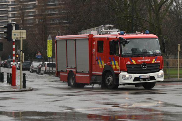 Illustratiefoto brandweer Brussel