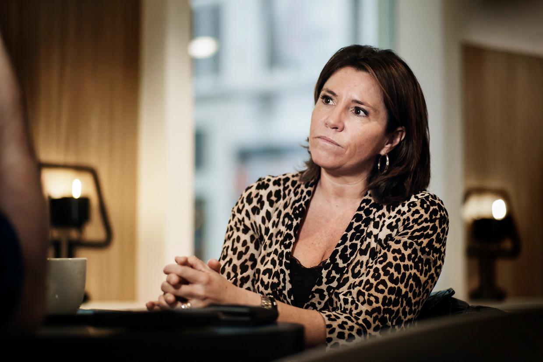 Heidi De Pauw, directeur van Child Focus, is net terug uit de Koerdische vluchtelingenkampen in Syrië. Beeld Eric de Mildt