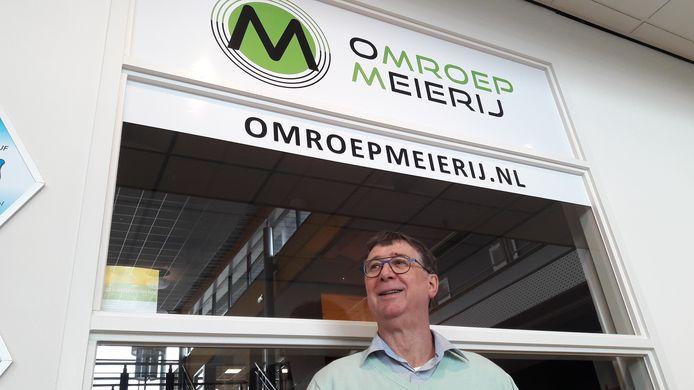 Bart Eijkemans, de voorzitter van Omroep Meierij in Meierijstad.