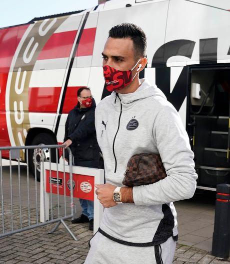 PSV ineens in de basis geraakt door corona: 'Ik voelde me al slecht tegen Slowakije'