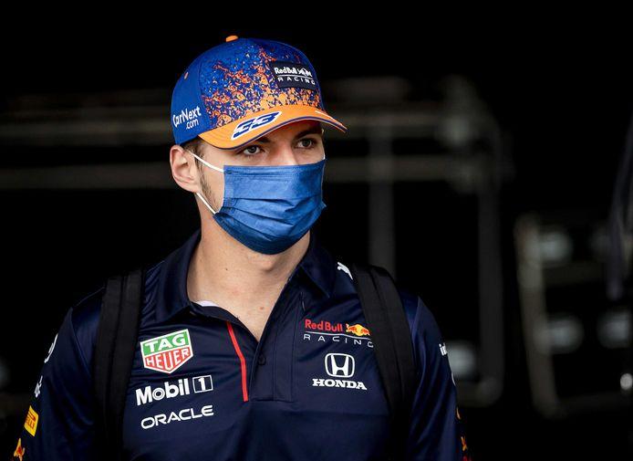 Max Verstappen in België.