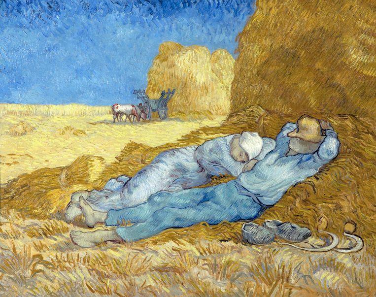 Vincent van Gogh: Middagrust (naar Millet), 1889/1890. Beeld Corbis via Getty Images