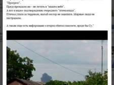 'Rebellenleider berichtte over neergehaald vliegtuig'