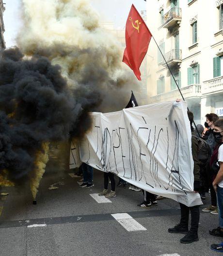 Bankgebouwen in Spanje aangevallen op vierde dag van rellen na arrestatie rapper