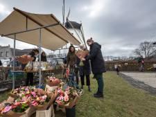 Gezelligheid centraal tijdens eerste Molenmarkt van 2021 in Borkel en Schaft
