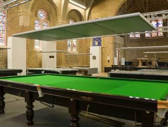Zin in een spelletje snooker in kapel Ster der Zee?