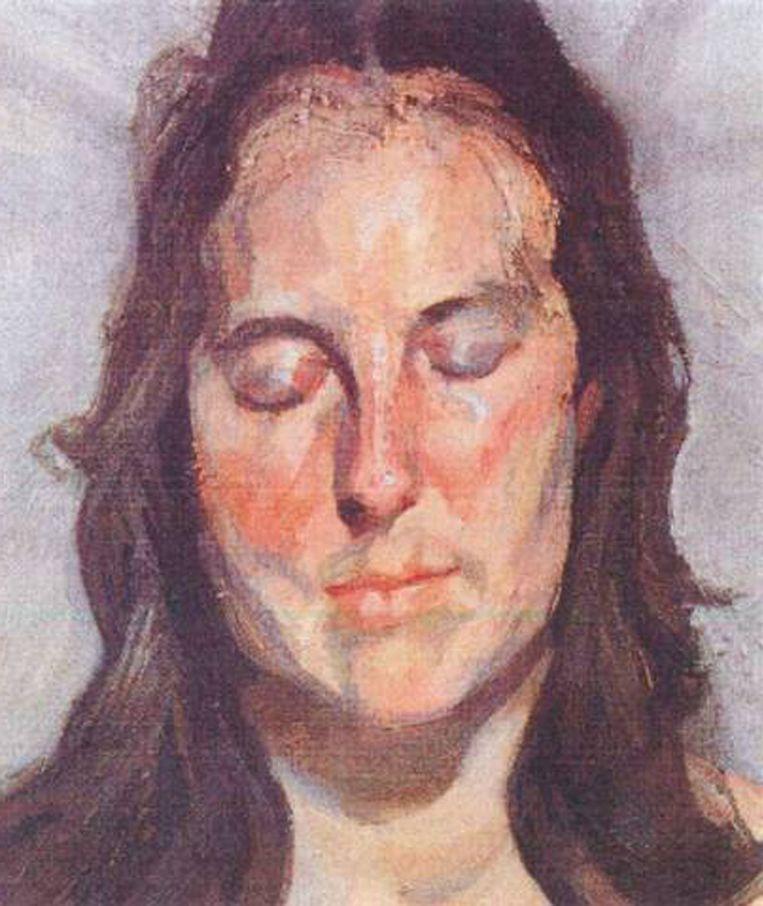 Lucian Freud 'Woman with Eyes Closed' (2002)<br /><br /><strong>De schilderijen die vorig jaar uit de Kunsthal in Rotterdam zijn gestolen, zijn hoogstwaarschijnlijk allemaal verbrand. Het gaat om zeven schilderijen met een geschatte waarde van 18 miljoen euro van onder anderen Monet, Matisse, Picasso en Gauguin. De kunstwerken zijn verbrand in de de woning van de moeder van hoofdverdachte Radu Dogaru in het Roemeense dorpje Carcaliu</strong> Beeld AP