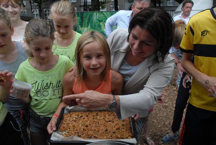 De 10-jarige Anne Hutter overwon de ene na de andere angst, mede dankzij Mechtild Stultiens-Van Straaten