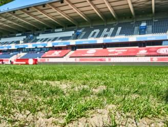 Zo ziet het veld aan Den Dreef eruit voor wedstrijd tegen Wit-Rusland