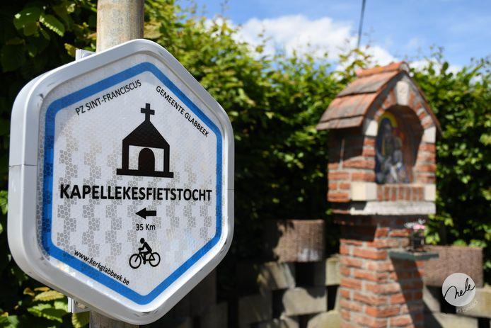 Vanaf zondag kan je heel wat kapelletjes ontdekken via een fietstocht.